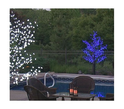 8.5' Pre-Lit LED Outdoor Christmas Tree Decoration