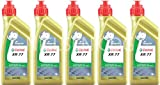 Castrol Racing XR77 2T Engine Oil CAS-2040-7176-5 - 5x1L = 5 litre