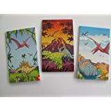 6 Dinosaur Notepads Party Bag Fillers