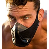 MIGHTYBO Training Mask (MEDIUM) Elevation Simulation Mask Fitness Conditioning Running Mask Breathing Exercise Mask Oxygen and CO2 Air Flow Regulation 16 Intensity Levels Endurance Cardio Workout Gear