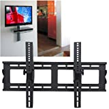 Black Slim LCD LED Plasma Flat-panel TV Tilt Wall Bracket Mount 32-65″