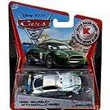 Disney Pixar Cars 2 Nigel Gearsley With Metallic Finish Silver Series