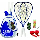 Speedminton® Set S200 im Back Pack, (incl. Easycourt)