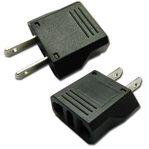 Orion Technology Universal Travel & Home Use Ac Power Plug Adapter For Euro To Usa