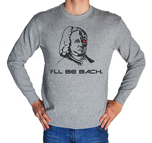 Johann Sebastian Bach Secret Terminator Men's Women's Unisex Sweatshirt XX-Large
