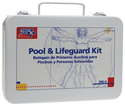 Tactical First Aid Kit: First Aid Only 16 Unit Pool And Lifeguard First Aid Kit, 100-Piece Kit by First Aid Only