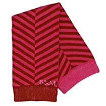 Bibi and Mimi Cupcake Leg and Arm Warmers, Red, One Size