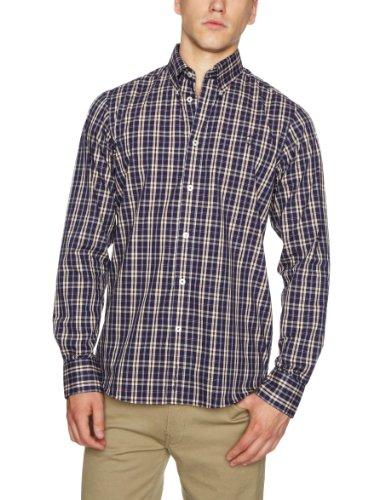 Ben Sherman Long Sleeve Regular Fit MB1117M Men's Shirt Prize Blue Small
