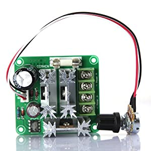 TabStore DBPower® 6V-90V 15A DC Motor Pump Speed Controller Support Pulse-Width-Modulated (PWM) DC Voltage Duty Cycle Adjustable 0%-100% from DBPower