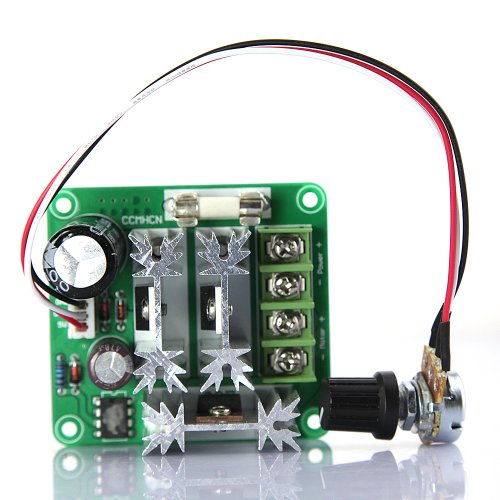 Tabstore Dbpower® 6V-90V 15A Dc Motor Pump Speed Controller Support Pulse-Width-Modulated (Pwm) Dc Voltage Duty Cycle Adjustable 0%-100%
