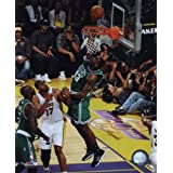 Kendrick Perkins Game Two of the 2009-10 NBA Finals(#4) Sports Foto (8 x 10)