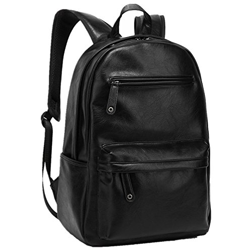 baosha-bp-08-top-pu-leather-laptop-backpack-school-college-rucksack-bag-black