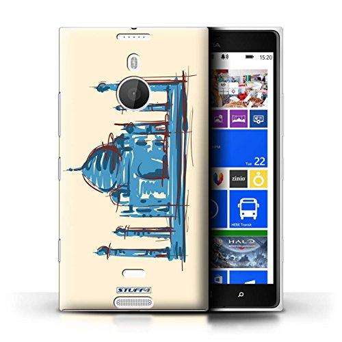 kobalt-taj-mahal-india-stampato-custodia-cover-per-nokia-lumia-1520-cellulari-telefoni-collezione-pu