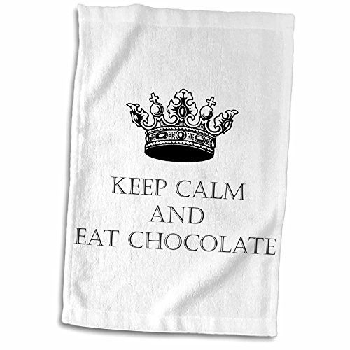 TNMGraphics Sayings - Keep Calm and Eat Chocolate - 11x17 Towel (twl_245754_1)