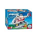 Playmobil 4222 - Helicóptero de Urgencias