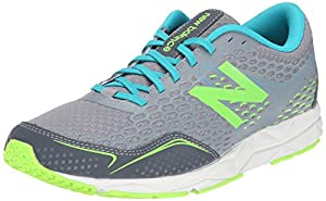 New Balance Women's W650V2 Running Shoe, Grey/Green, 8 B US