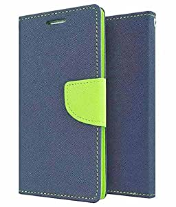 Lenovo Vibe P1 Flip Cover Mercury Case (Blue) By First 4