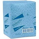 KIMBERLY-CLARK PROFESSIONAL* KIMTECH PREP KIMTEX Wipers, 1/4-Fold, 12 1/2 x 13, Blue, 66/Box, 8/Carton