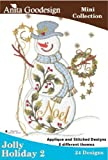 Anita Goodesign Embroidery Designs Cd Jolly Holiday 2