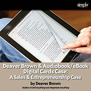 Deaver Brown & Audiobook - eBook Digital Card Case Audiobook
