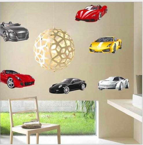 Home Decor Decals Poster House Wall Stickers Quotes Removable Vinyl Large Wall Sticker For Kids Rooms Stickers Mirror Stickers The Cars W-287