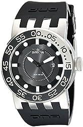 Invicta Men's 12423 DNA Black Dial Black Silicone Watch