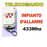 TELECOMANDO WIRELESS 433MHZ PER IMPIANTO D