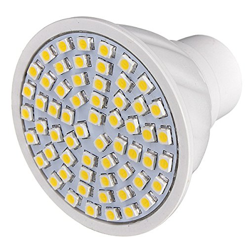 Kingso 110V Gu10 5W 3528 Smd 60 Led Energy Saving Spot Light Bulb Lamp Warm White