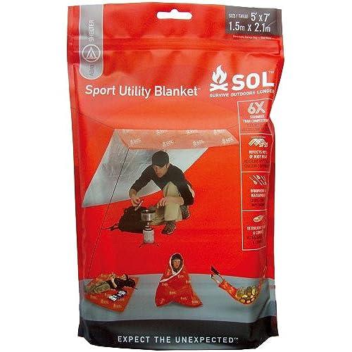 [지진 / 재해재난대비 용품] SOL(솔) 스포츠 유틸리티 blanket 12348 (2013-02-19)