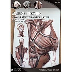 Anatomy Workshop Volume Five - Structure and Anatomy of the Human Torso with Charles Hu