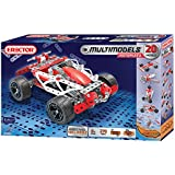 Meccano-Erector - Multimodel - 20 Model Motorized Set, 270 Parts