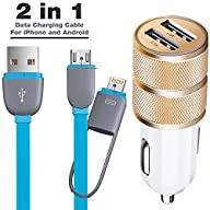 Car Charger, ShuoGe� 3.1A Dual 2 USB…