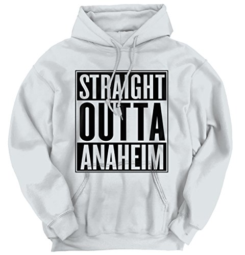 Straight Outta Anaheim, CA City Funny Movie T Shirts Gift Idea Hoodie Sweatshirt (Party City In Anaheim Ca)