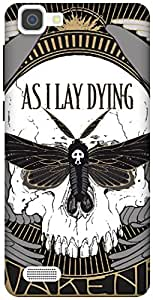 The Racoon Lean AS I LAY DYING hard plastic printed back case / cover for Vivo V1