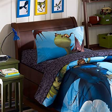 Dragon bedroom dragon decor ideas how to train your dragon twin sheet set ccuart Image collections