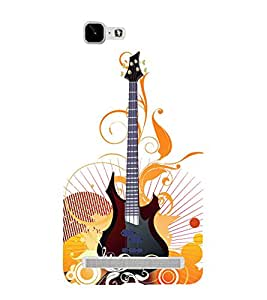Graphical Guitar Stand 3D Hard Polycarbonate Designer Back Case Cover for VIVO X5 MAX