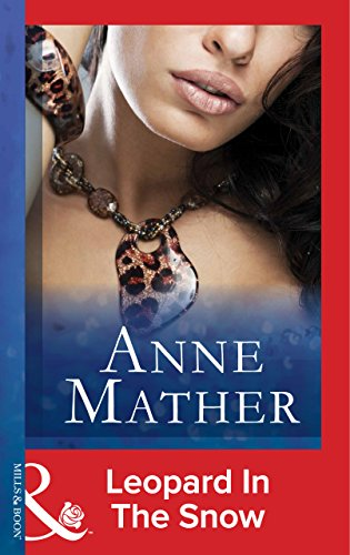 leopard in the snow anne mather pdf