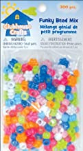 Clubhouse Crafts Assorted Color Bead Mix - 300 Ct - Clubhouse Crafts Assorted Color Bead Mix - 300 C