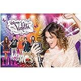 Lisciani Giochi 48618 - Violetta Music And Friends Puzzle Doppia faccia Plus, 250 Pezzi
