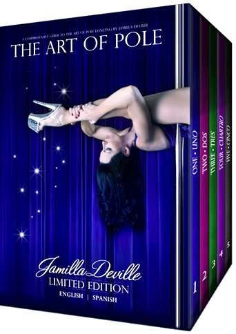 The Art of Pole Dance DVD Box Set Collection Limited Edition (English and Spanish)