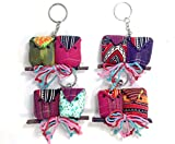 4 Pieces of Owl Key Ring Handmade (Assorted Color)