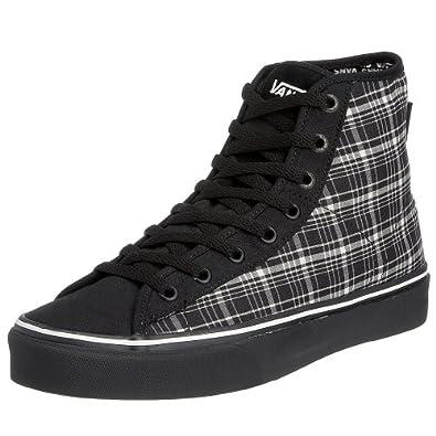 VANS M FERRIS HI VF393BI, Herren Sneaker, schwarz, (mixed plaid) black/white/black ), EU 38 1/2 (US 6 1/2) (UK 5 1/2)