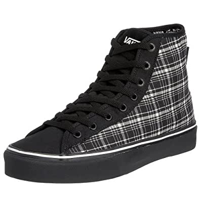 VANS M FERRIS HI VF393BI, Herren Sneaker, schwarz, (mixed plaid) black/white/black ), EU 38 1/2 (US 6 1/2) (UK 5 1/2)