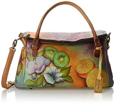 Anuschka 527 Shoulder Bag,Fruity Fiesta,One Size