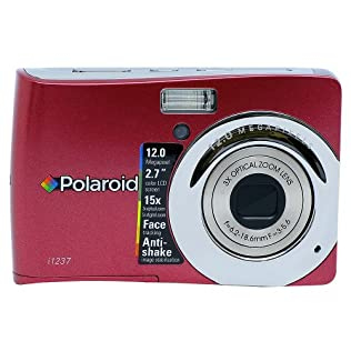 Polaroid CIA-1237RC 12MP Digital Camera with 3x Optical Zoom - Red