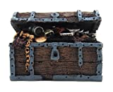 BASE GEAR(ベースギア) アクアリウム を華やかに オーナメント 選べる 景観 隠れ家 タイプ (宝箱)