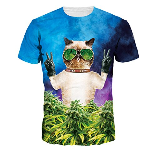 la-hierba-verde-los-arbustos-de-camiseta-para-mujer-comoda-suave-camiseta-tops