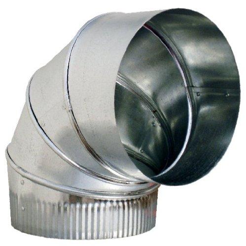 Sheet Metal Tape : Quot duct elbow degree hvac sheet metal