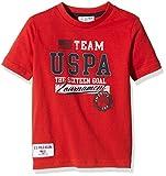 U.S. Polo Assn. - Team Uspa Ss, Camiseta infantil, rojo (rosso (155)), 4