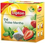 Lipton - Th� Noir Lipton - Fraise Men...